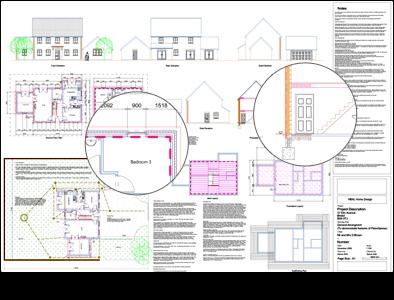 PlansXpress Building plan drawing tool