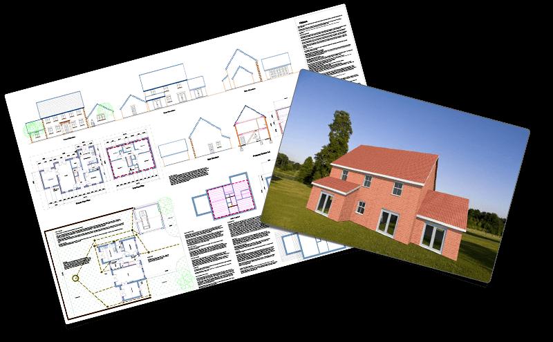 3D Visual Estimating - Architect quality plans, designs & automatic estimate