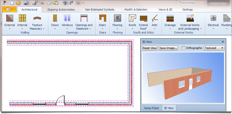 Easy plans software for builders and developers hbxl Easy drawing software
