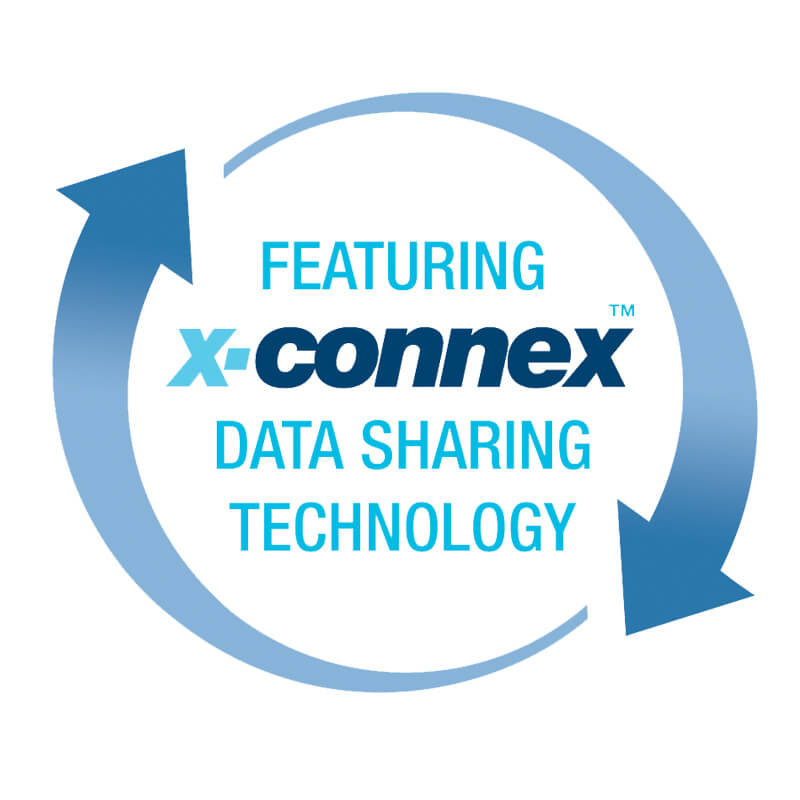 X-Connex data sharing technology