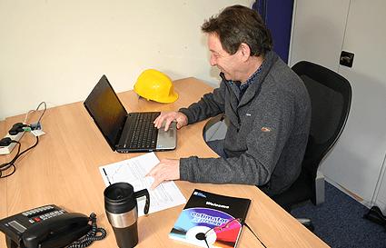 Tony James, Syston Construction