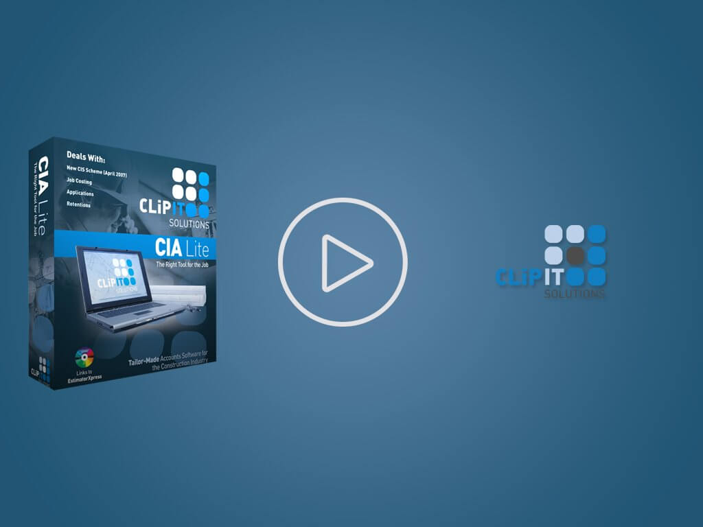 CIA Lite – Accounting software for the construction industry