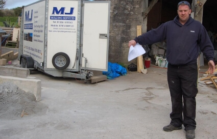 Mark Jones, MJ Building Services (Cornwall)