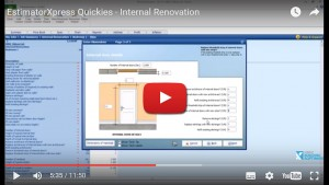 Estimating Software for Extensions -internal-renovation