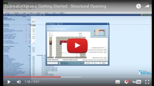 Estimating Software for Extensions - structural-opening