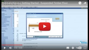Estimating Software for New Builds suspended-timber-floor
