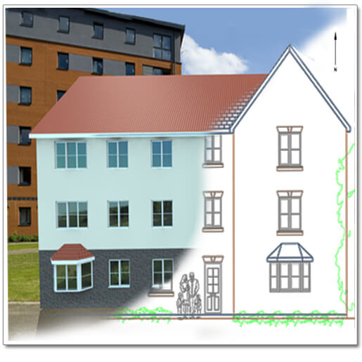 Apartment Block: CAD Software For Builders And Developers