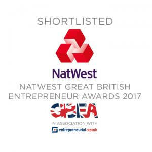 Natwest Great British Entreprenuer Awards 2017