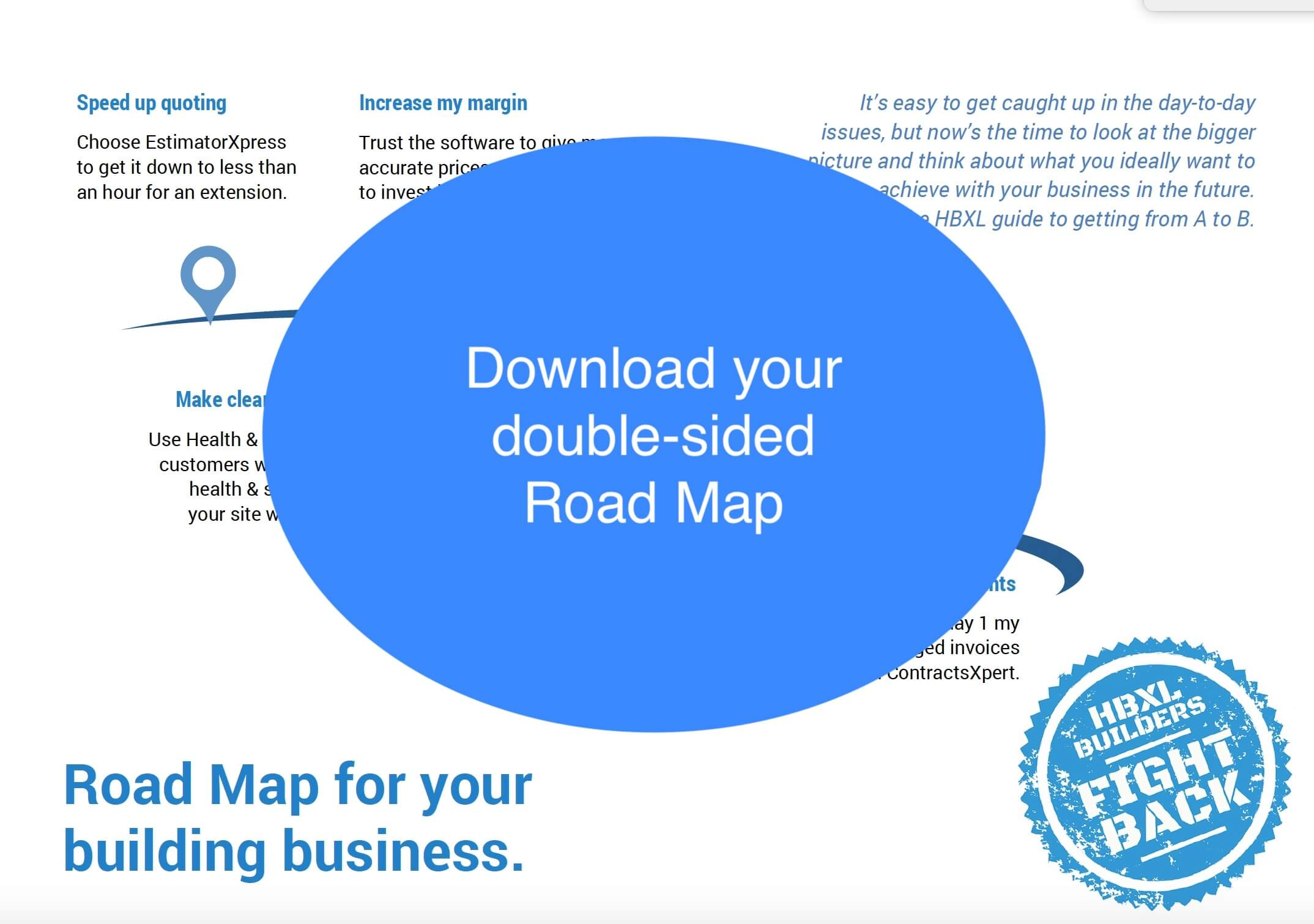 Download your double-sided Road Map