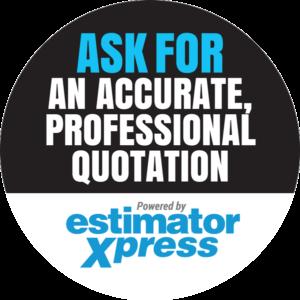 Van sticker for EstimatorXpress