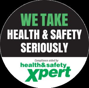 Van sticker for Health & Safety Xpert