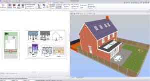 PlansXpress with simultaneous 3D image